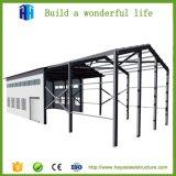 La Cina ha prefabbricato il disegno galvanizzato delle illustrazioni della tettoia del magazzino della struttura d'acciaio