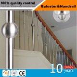 階段およびバルコニーのためのステンレス鋼のBalusterの柵