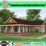 La casa prefabricada del envase moderno de la estructura de acero/prefabricó hogares modulares