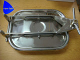 Gesundheitlicher rechteckiger Becken Manway Deckel Ss304 EPDM