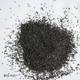 Usine des prix concurrentiels d'alimentation de la calcination de l'alumine fondue marron