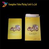 Изготовления играя карточек высокого качества нестандартная конструкция Yh7 пластичного