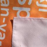 Serigrafía de gamuza de microfibra elástica toalla