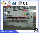 Cnc-hydraulische Schwingen-Träger-Scher-und Ausschnitt-Maschine QC12K-6X3200