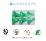 Concurrerende PCB van de Prijs voor MP3 met het Groene Masker van het Soldeersel