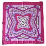 Леди мода полиэстер уходе жоржет печатной площади шелковые шарфы (YKY4135)