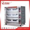 Four commercial industriel électrique de traitement au four d'acier inoxydable de 9 plateaux