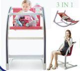 1脚の多機能の大人の赤ん坊の高い椅子に付き3脚