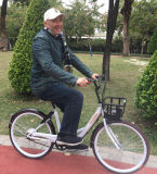Vendas quente 36V 240W ciclomotor de Rastreamento por GPS bicicleta eléctrica