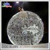 Indicatore luminoso esterno di motivo della sfera di natale 3D di CE/RoHS grande 8m