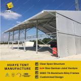 Grande tente commerciale extérieure d'événement avec l'étape