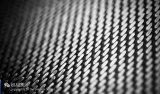 Vélo avec le tissu tissé par fibre de carbone