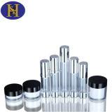 30ml 50ml luftloses Goldkosmetische Haustier-Flaschen-Aluminiumwiederverwertung