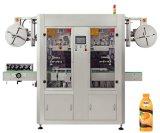 Tampa de garrafa pet automática máquina de manga retráctil