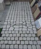 Granito grigio-chiaro della pietra per lastricati di alta qualità