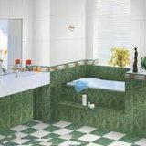 La decoración de color puro de la moda de baño de cerámica mosaico de suelos de pared