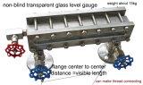 水晶ガラスのTublarの二色の水位の正確に測レベルの表示器