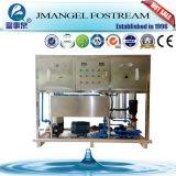 Desalinización automática del agua de la planta