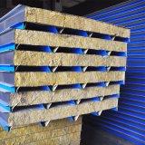 Material de construcción Flame-Retardant Sándwich de lana de roca de la Junta compuesto