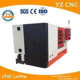 Torno que muele del CNC de la base inclinada Tck32 con el torno vivo del &CNC de las herramientas