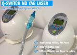 Máquina de la belleza del laser del retiro del tatuaje del laser del ND YAG de la aprobación del Ce