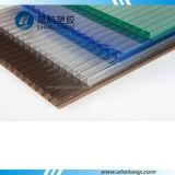 Recouvrement givré et Glittery de Derective de polycarbonate de Jumeau-Mur