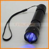 Escorpião UV do detetor da urina do animal de estimação da lanterna elétrica de Wf501b que caçam a luz