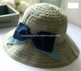 Stof Bucket Hats met Big Bowknot voor Girl (CPA_90059)