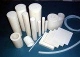 Manguito de PTFE, tubo de PTFE, aislante de tubo de PTFE con el color blanco, negro