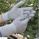Пригонка доказательства масла супер отрезала упорную перчатку работы безопасности PU перчаток