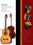 Guitarra clássica superior contínua da corda de nylon espanhola Handmade