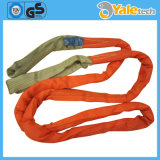 CE e GS Polyester 100% Round Lifting Webbing Sling