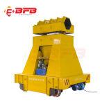 Appliquer de l'industrie de manutention motorisés de la bobine d'acier Railroad voiture (KPT-40T)