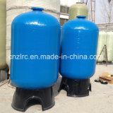 De Filter RO van het Water van de druk FRP wordt de Tank van de Zuiveringsinstallatie van de Koolstof van het Schip zacht