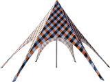 Tente faite sur commande d'étoile de Red Bull de logo de tente en forme d'étoile de promotion pour l'étalage