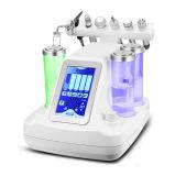 Bewegliche Hydra GesichtsMicrodermabrasion Multifuctional Schönheits-Maschine mit Sauerstoff-Schale HF Bioultraschall
