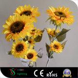 Для использования вне помещений оформление Flower LED фонари для семян масличного подсолнечника