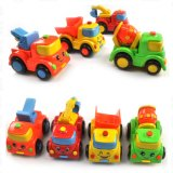 Части Movable ABS Friction Truck Toy Cars с 4 Designs