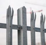 Schnelles installierendes Metallpalisade-Stahlzaun-System