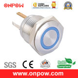Onpow 16mm Push Button Switch (Serie GQ16, CER, CCC, RoHS)