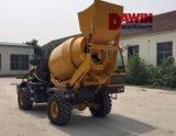 Auto automatico che carica il camion della betoniera con il PLC che pesa sistema