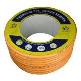 """3/8""""~1-1/2 """" à deux fils de polyester de tressage de flexibles en PVC renforcé"""