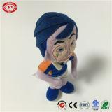 남자 숫자 파란 머리 나일론 물자 세륨에 의하여 채워지는 인형 장난감