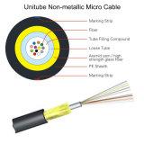 4/8 cable óptico de la fibra GYXTW