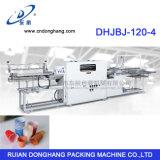Plastikwegwerfcup-Felgen-kräuselnmaschine Dhjbj-120-4