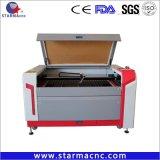 máquina de corte e gravação a laser CNC CO2 perfeito para o papel de MDF de acrílico de madeira