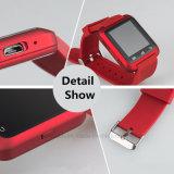 Intelligente Bluetooth Uhr mit Pedemeter/Höhenmesser/Barometer (U8)