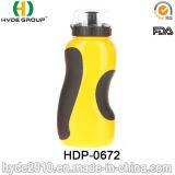 2017 Fles van de Sport van nieuwe Producten BPA de Vrije Plastic met Stro, PE de Plastic Fles van het Water van de Sport (hdp-0672)