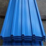 Telhas de aço galvanizado Pre-Painted Bobina Folha a folha de telhado colorido