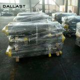 Único cilindro hidráulico de levantamento de atuação para o caminhão de descarga
